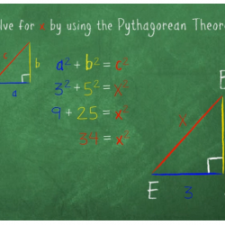 Math Problem Animation Screen Shot